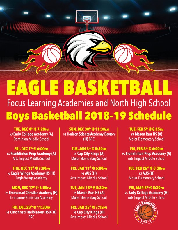 Basketball Schedule Template Best Of Flyer Basketball Schedule – Ohio Youth Girls Basketball