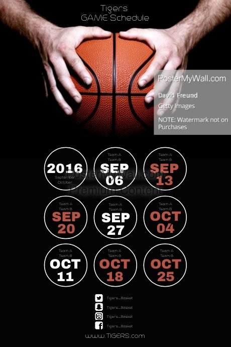 Basketball Schedule Template Elegant Flyer Basketball Schedule – Ohio Youth Girls Basketball