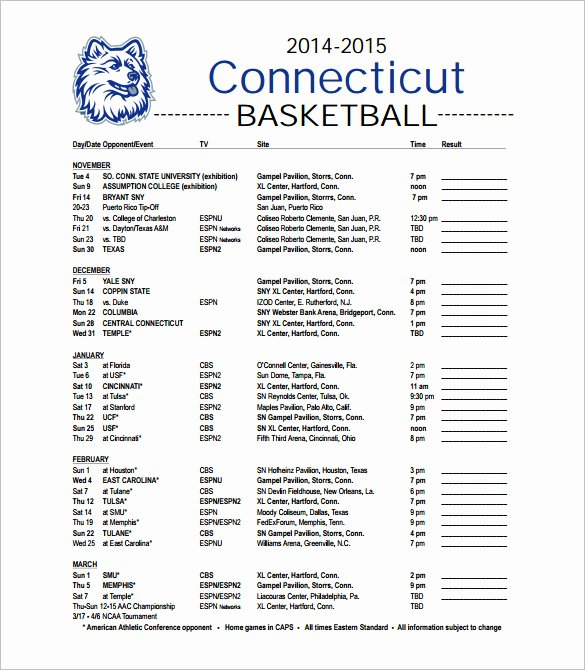 Basketball Schedule Template Fresh 12 Basketball Schedule Templates & Samples Doc Pdf