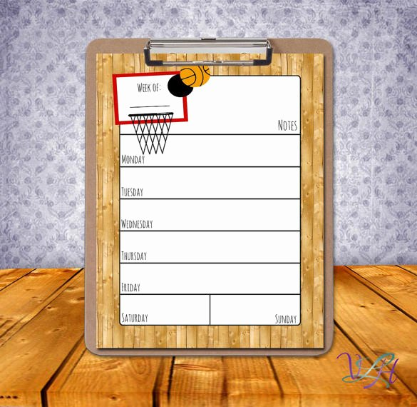 Basketball Schedule Template New 8 Basketball Schedule Templates Doc Pdf