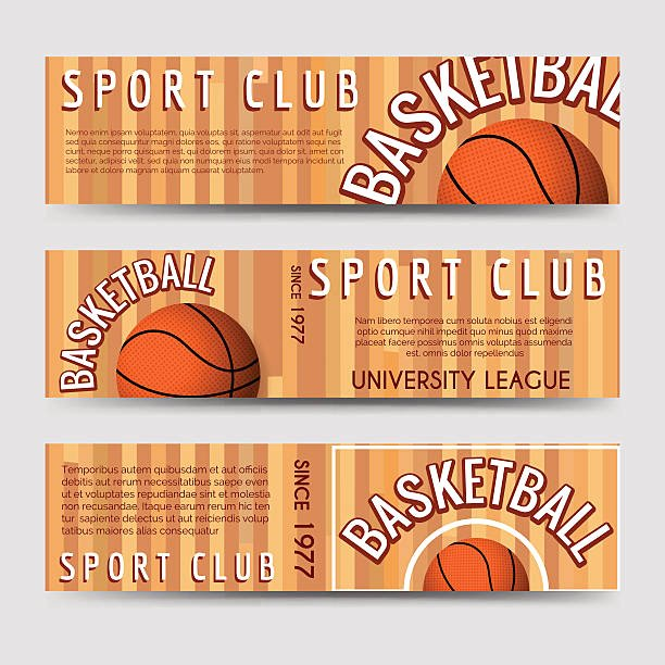 Basketball Ticket Template Best Of Royalty Free Basketball Ticket Clip Art Vector