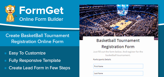 Basketball tournament Registration form Template Best Of Basketball tournament Registration form [sports Clubs