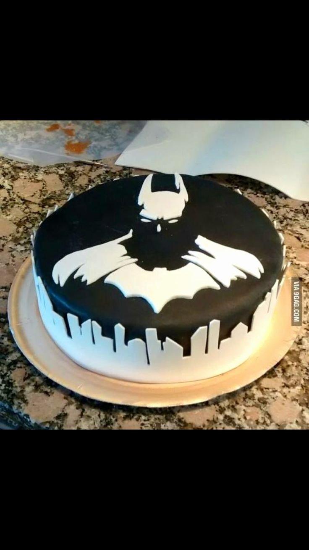Batman Cake Template Awesome Batman Superheroes Cake Gotham City Birthday Boy Black and
