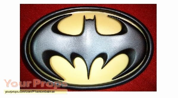 Batman Chest Emblem Awesome Batman forever Chest Emblem Bat Logo Replica Movie Costume