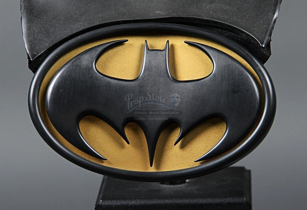 Batman Chest Emblem Best Of Batman forever 1995 Batman S Val Kilmer Batsuit Cowl