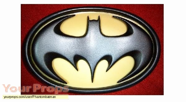 Batman Chest Emblem Fresh Batman forever Chest Emblem Bat Logo Replica Movie Costume