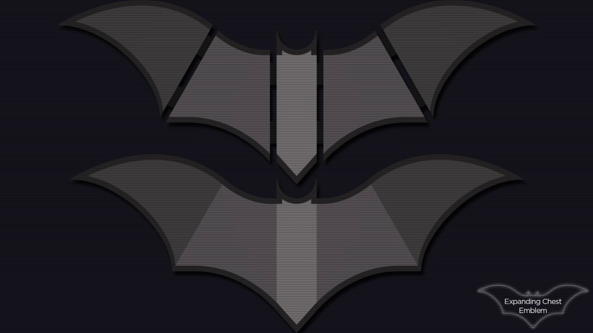 Batman Chest Emblem Inspirational Batman Expanding Chest Emblem by Itsintelligentdesign On