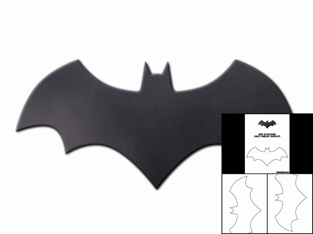 Batman Chest Emblem New Template for New 52 Batman Chest Emblem