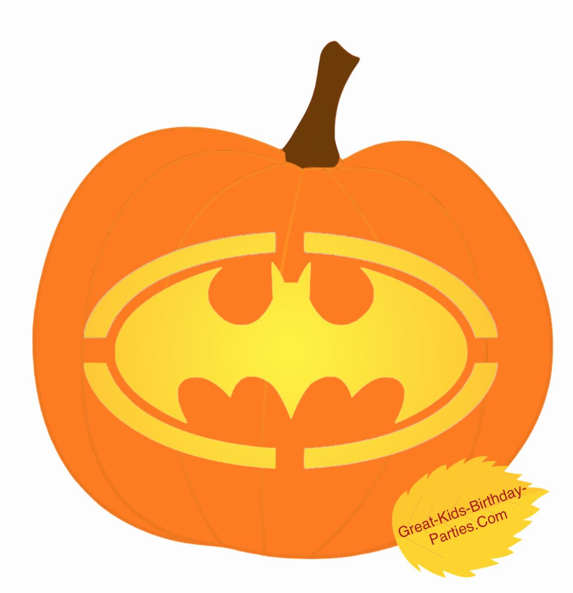 Batman Logo Pumpkin Stencil Lovely Pumpkin Stencils