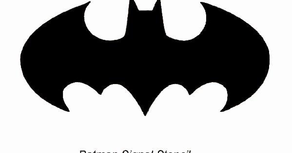 Batman Logo Pumpkin Stencil New Batman Stencils Free