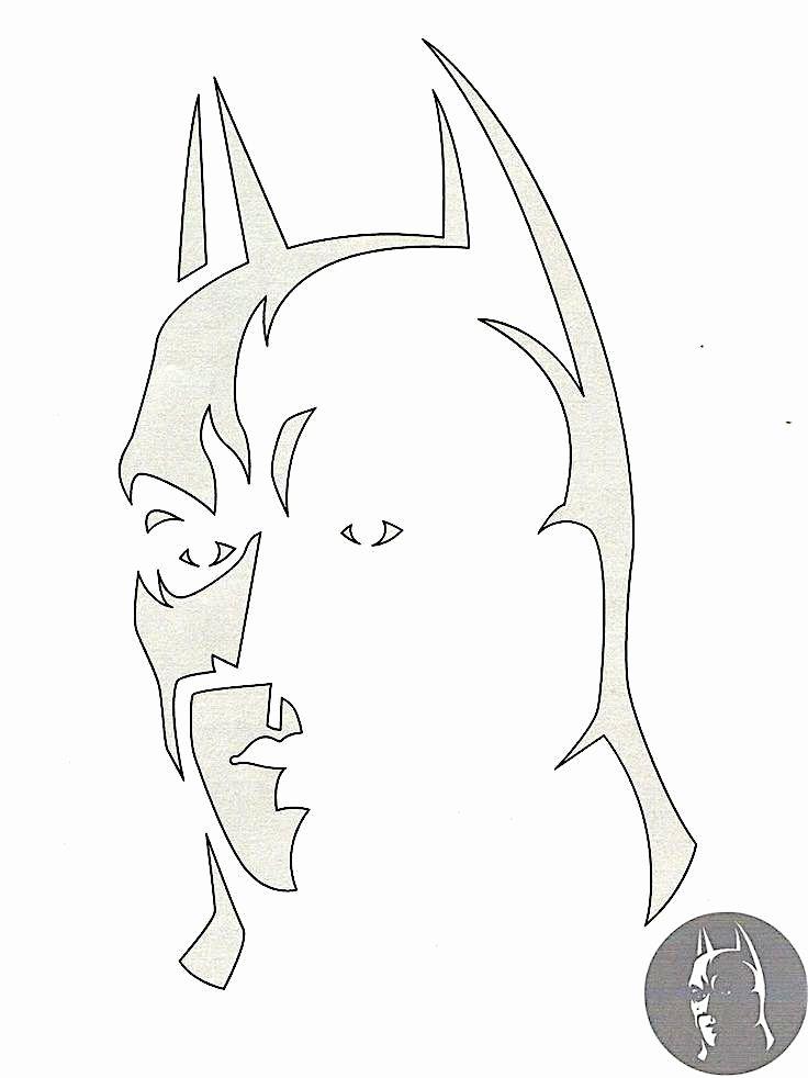 Batman Logo Stencil Awesome Best 25 Batman Pumpkin Stencil Ideas On Pinterest