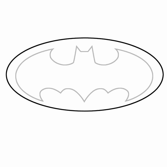 Batman Logo Stencil Beautiful 8 Best Batman Template Images On Pinterest