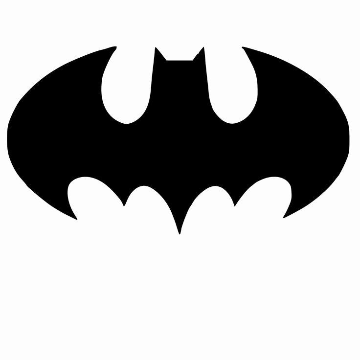 Batman Logo Stencil Beautiful Batman Logo Stencil