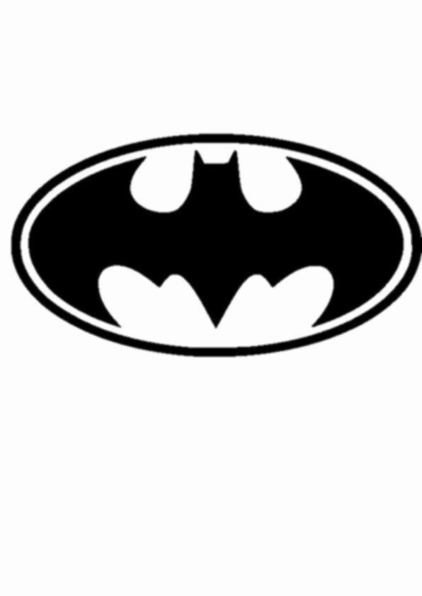 Batman Logo Stencil Elegant Batman Vinyl Sticker Car Laptop Wall Furniture Etc
