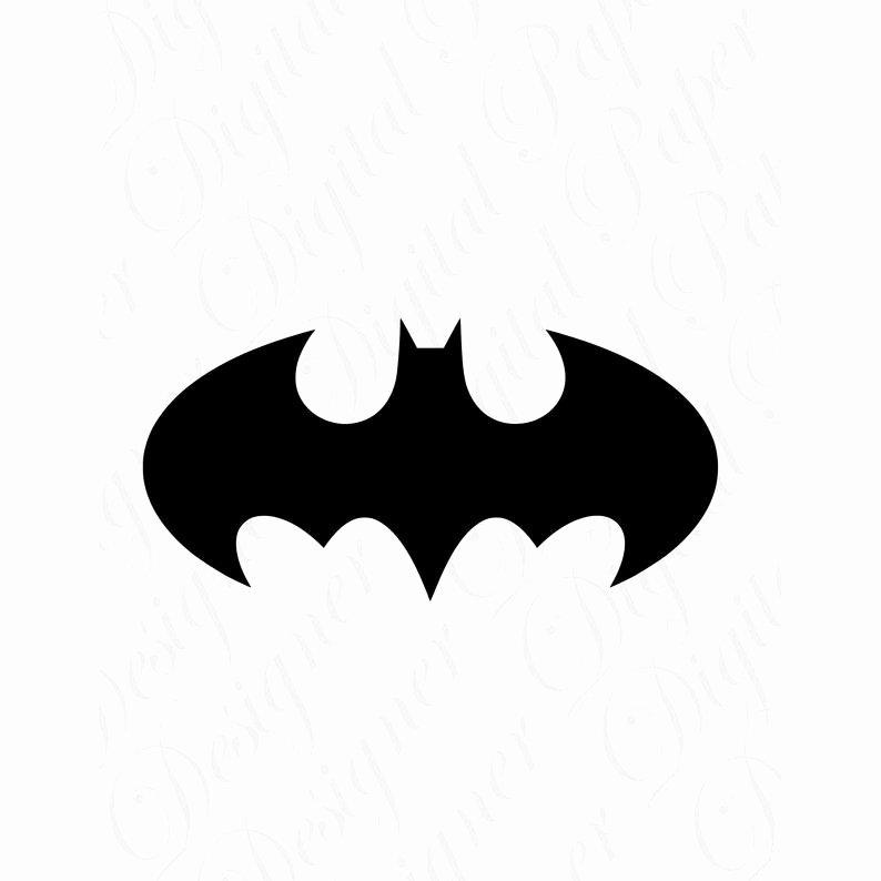 Batman Logo Stencil Fresh Bat Svg and Studio 3 Cut File Cutouts Files Logos Stencil