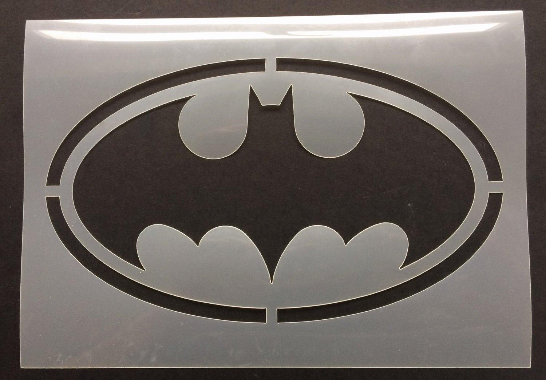 Batman Logo Stencil Fresh Batman Bat Logo Stencil 190 Micron Mylar