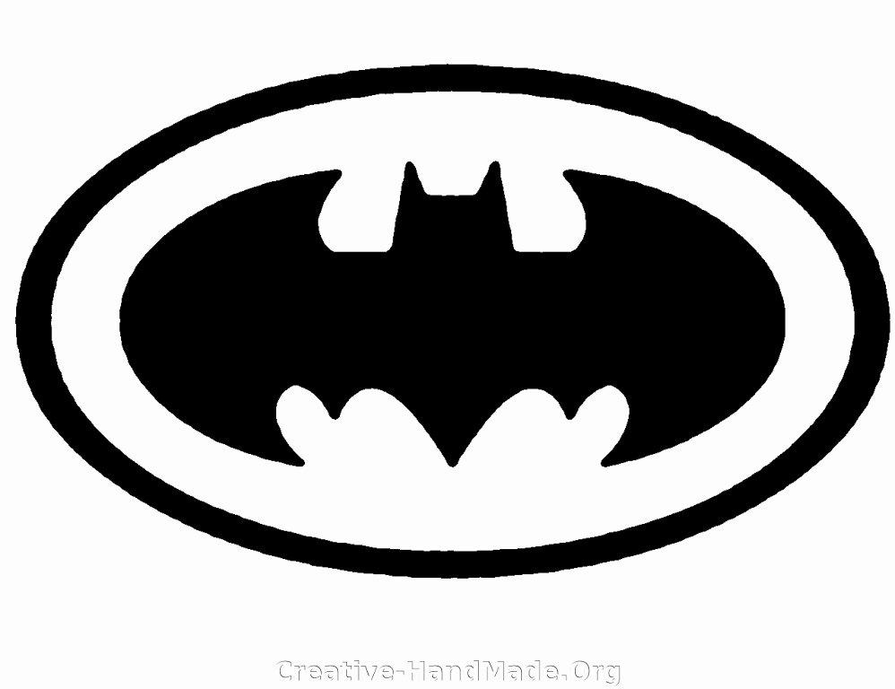 Batman Logo Stencil Lovely Batman Logo Stencil Cake Ideas and Designs