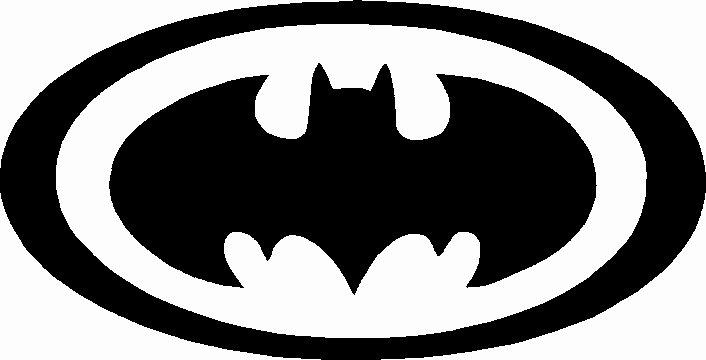 Batman Logo Stencil Luxury Printable Batman Logo Clipart Best