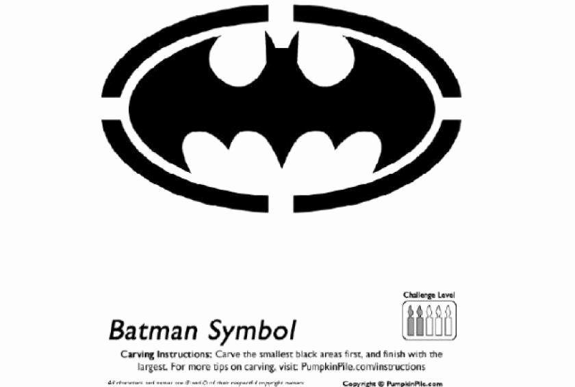 Batman Pumpkin Carving Stencil Awesome Free Pumpkin Carving Patterns to Make You Look Like Pro
