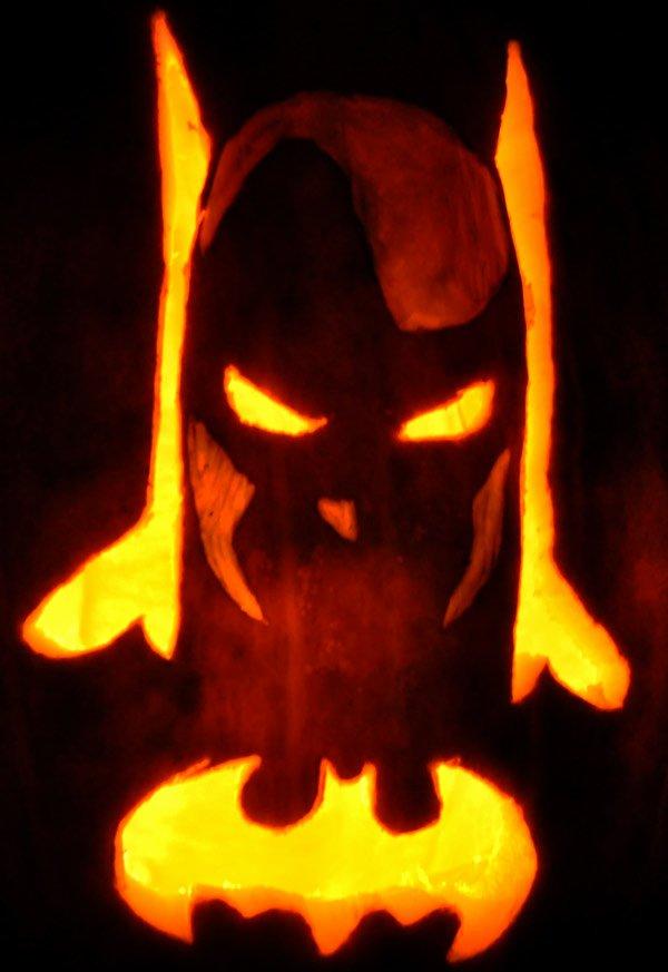 Batman Pumpkin Carving Stencil Inspirational Noel S 2009 Pumpkins