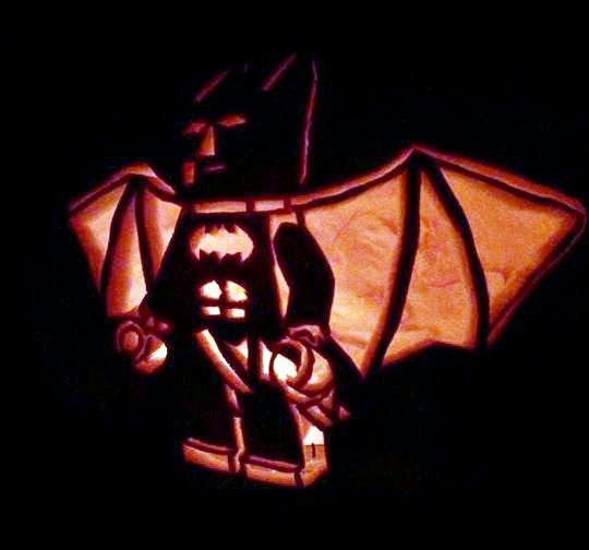 Batman Pumpkin Carving Stencil Luxury the Weird Scissors 30 Jack O Lanterns Pumpkin Style