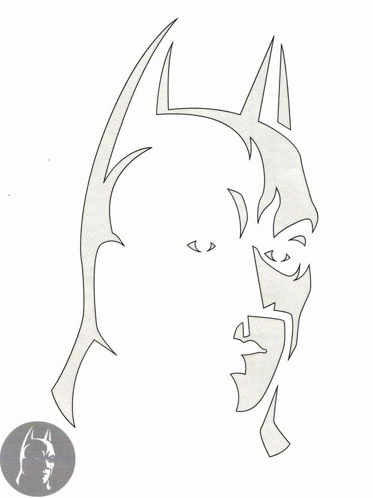 Batman Pumpkin Stencil Awesome Best 25 Batman Pumpkin Stencil Ideas On Pinterest