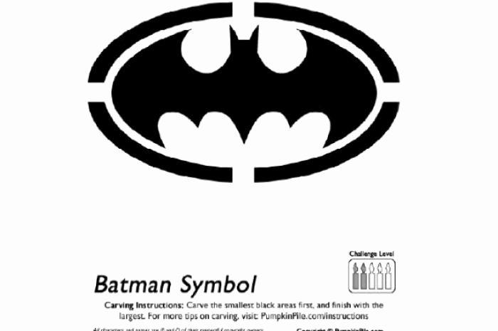 Batman Pumpkin Stencil Beautiful Free Pumpkin Carving Patterns to Make You Look Like Pro