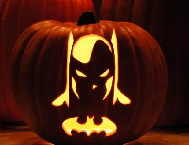 Batman Pumpkin Stencil Free Beautiful Batman Pumpkin Carving Design Halloween