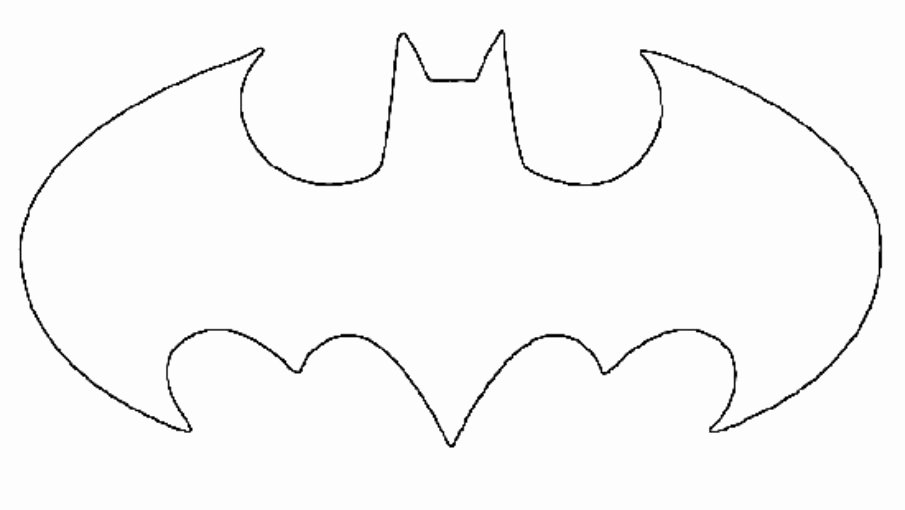 Batman Pumpkin Stencil Free Elegant New Batman Symbol Stencil Clipart Best