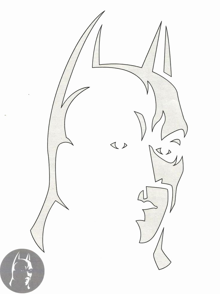 Batman Pumpkin Stencil Free Fresh Best 25 Batman Pumpkin Stencil Ideas On Pinterest