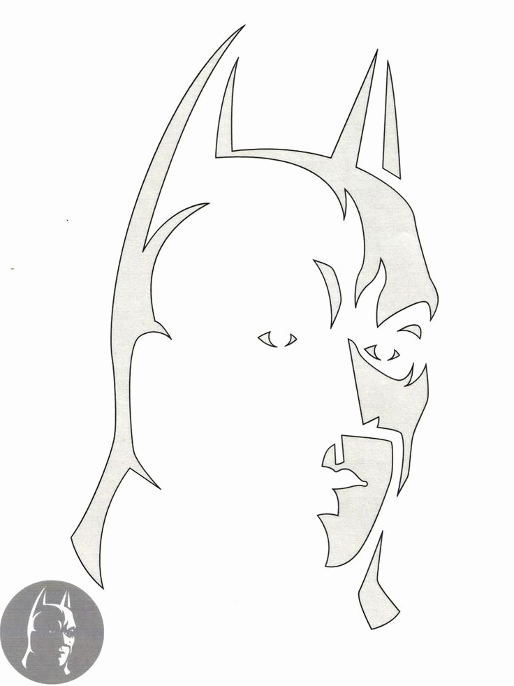 Batman Pumpkin Stencil Free New Batman Pumpkin Stencil