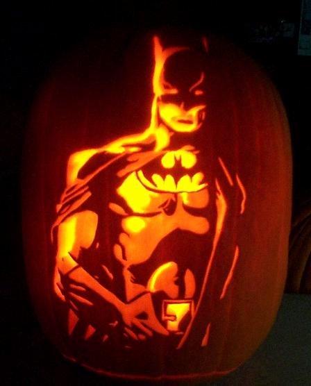 Batman Pumpkin Stencil Free New Superhero Steel🌐 Superherosteel