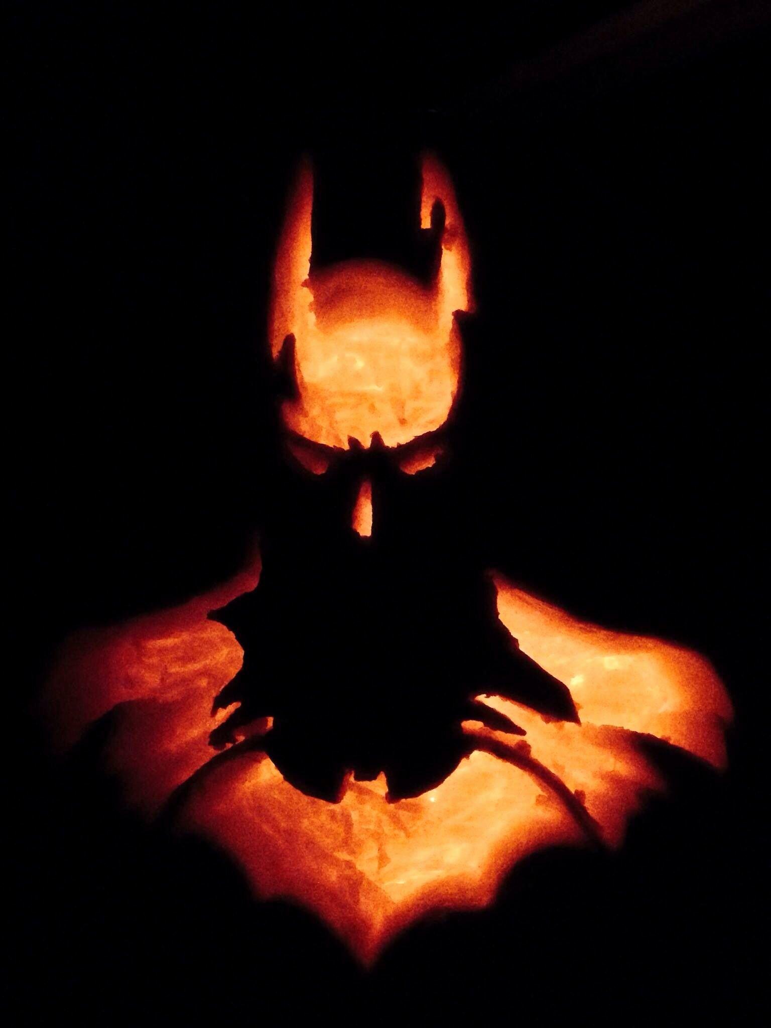 Batman Pumpkin Stencil Unique Batman Pumpkin Carving for Halloween