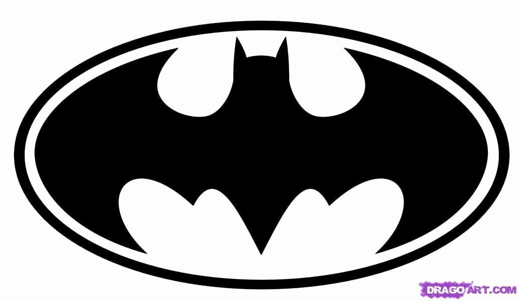 Batman Signal Template Elegant Batman Symbol Template Clipart Best