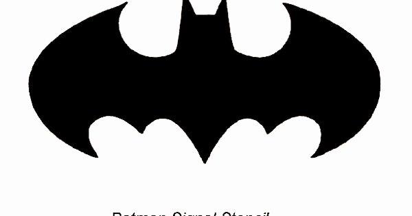 Batman Signal Template Fresh Batman Pumpkin Stencil нαℓℓσωєєи Pinterest
