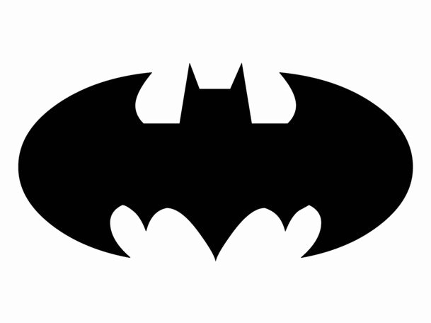 Batman Signal Template Fresh Printable Batman Logo Clipart Best