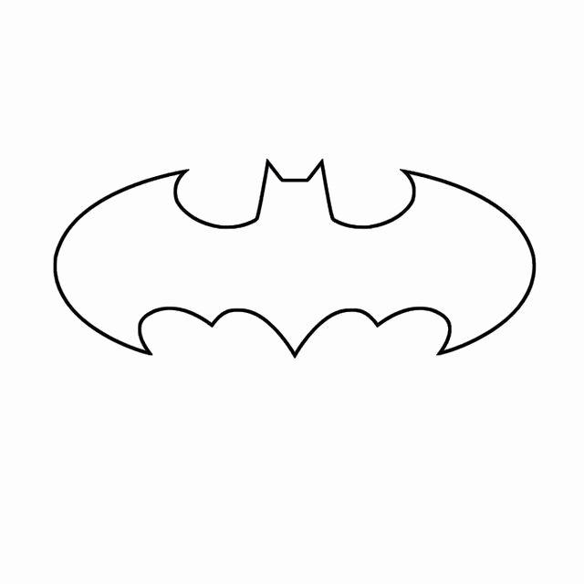 Batman Signal Template Luxury Batman Symbol Template Stuff I Want to Make