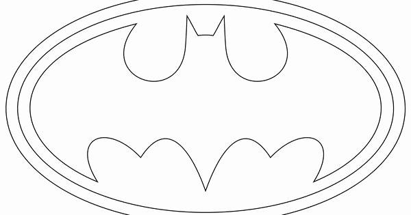 Batman Signal Template New Batman Template Cake Tutorials Pinterest