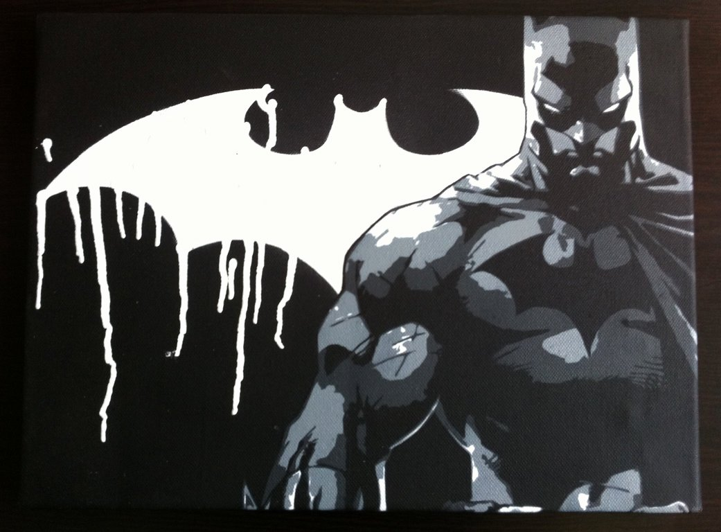 Batman Stencil Art Awesome I Am the Night Batman Stencil by Prometteu On Deviantart