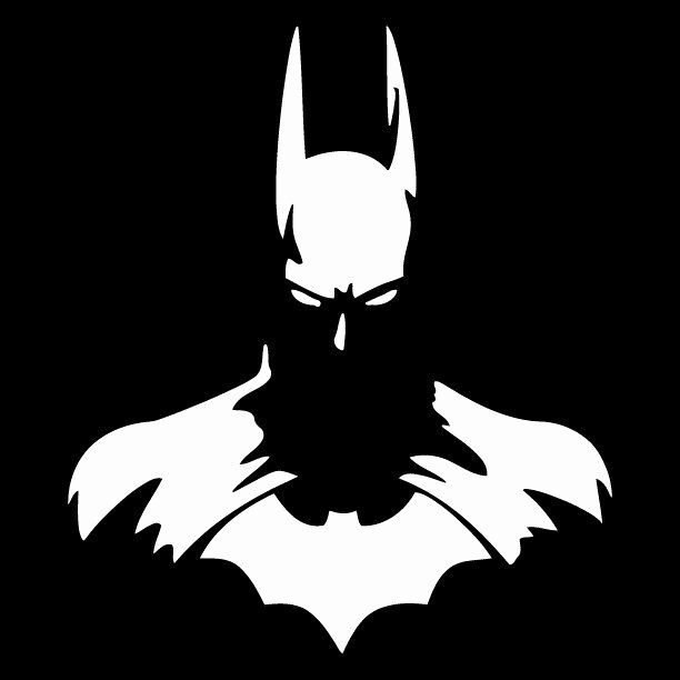 Batman Stencil Art Best Of Dark Knight Batman Car Truck Window Vinyl Sticker Decal