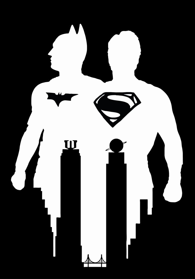 Batman Stencil Art Elegant Batman Vs Superman Stencil Vector Art by Sartauzumaki On