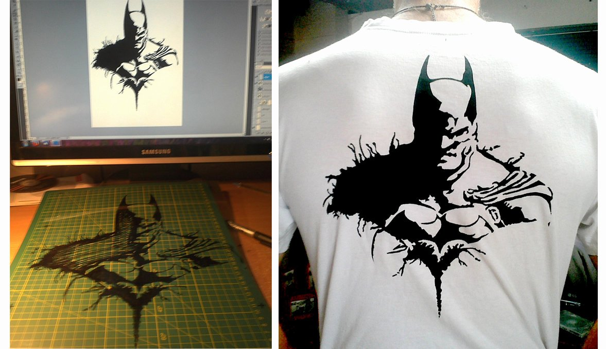 Batman Stencil Art Inspirational Batman Stencil by Telephunkn On Deviantart