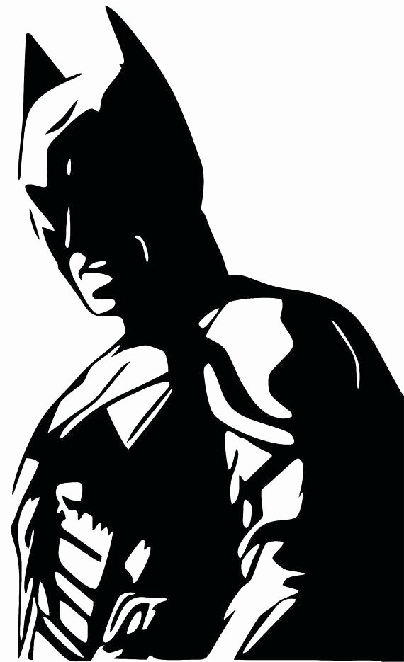Batman Stencil Art Lovely Batman Stencil Clipart