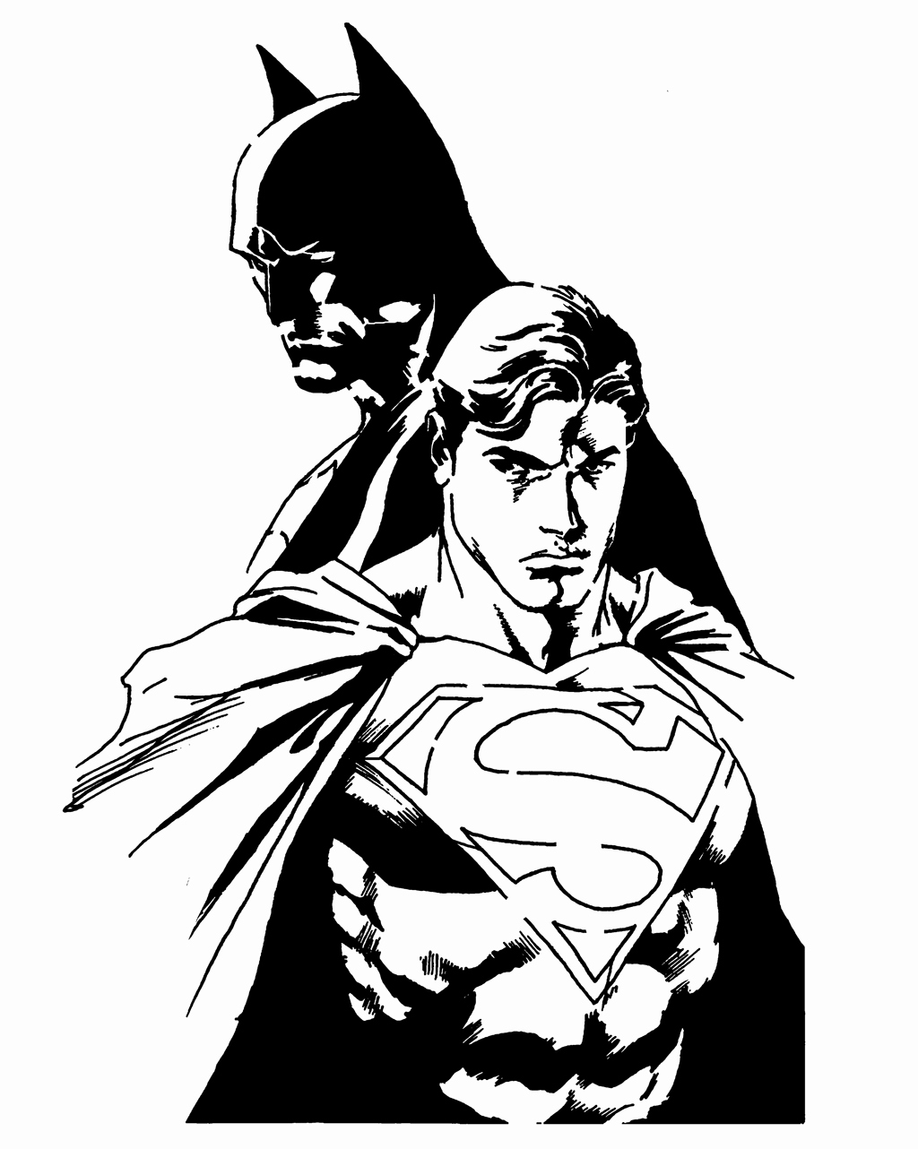 Batman Stencil Art Lovely Superman and Batman Stencil by Joedson On Deviantart