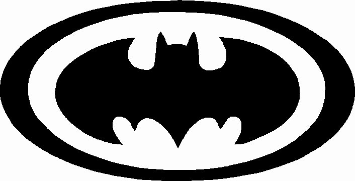 Batman Stencil Art New Batman Stencil Tag Body Art