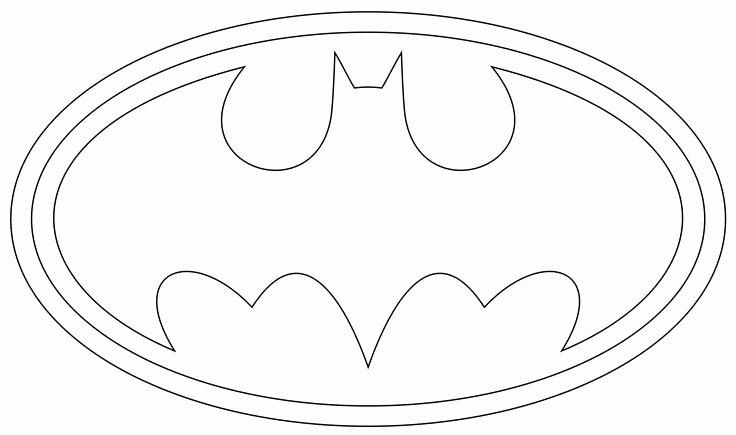 Batman Stencil Printable Best Of Batman Logo Outline to Print and Use Symbols