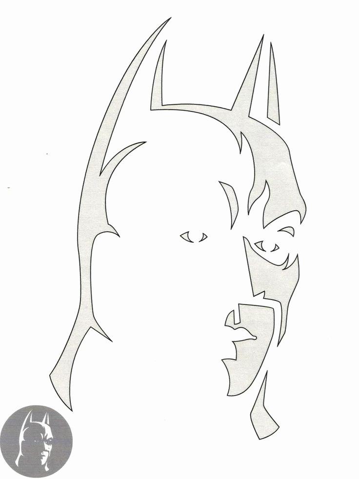 Batman Symbol Pumpkin Stencil Inspirational Batman Pumpkin Stencil