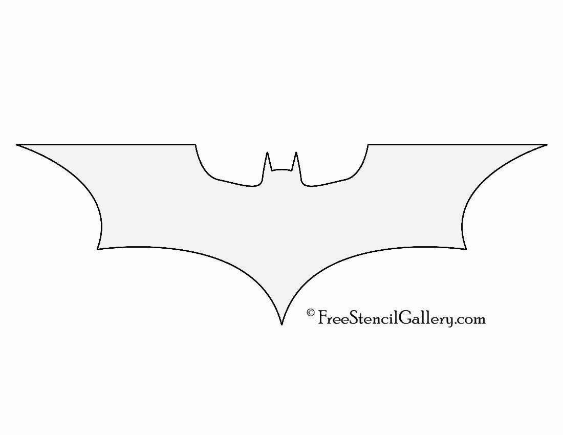 Batman Symbol Pumpkin Stencil Inspirational Batman Symbol Stencil
