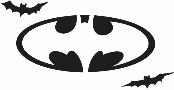Batman Symbol Pumpkin Stencil New Batman Free Printables Batman Logo Stencil Printable Cake