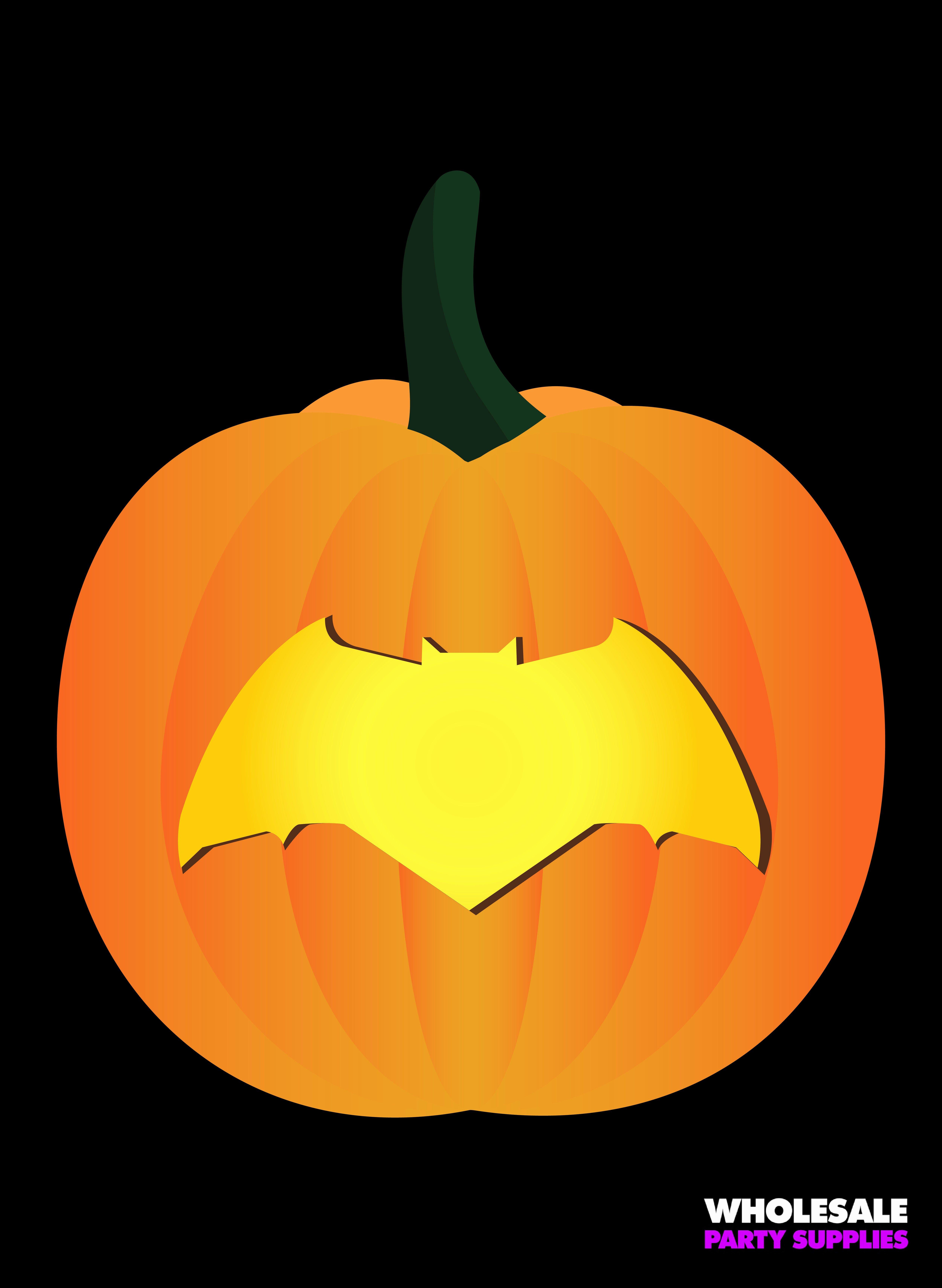 Batman Symbol Pumpkin Stencil Unique Justice League Pumpkin Stencils